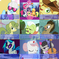 MLP: FiM - The Dating Sim 4 - random encounters by CallMeDoc