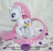Fleur De Lis Custom FiM My Little Pony by mayanbutterfly