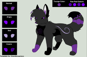 Thunder's Contest Entry by TheCuriousFox