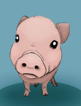 Piglet by GwenStacy