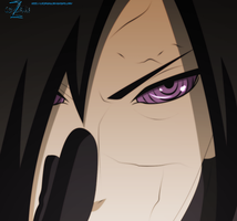 Uchiha Madara - Coloring by coldrainz