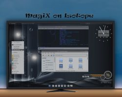 Isotopic MagiX - my XFCE4 Desktop by rvc-2011