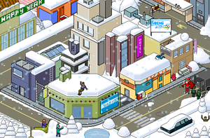 Snow Isometric Pixel Art by Gridysgood