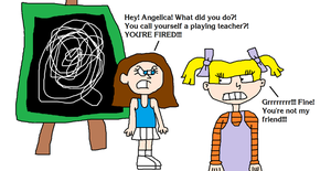 Angelica is Fired from Being the Playing Teacher by MikeEddyAdmirer89