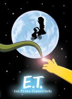 E.T. The Extra Terrestrial by HomerS85