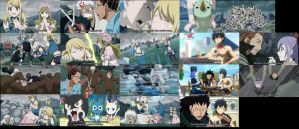 Fairy tail snapshots of Episode 142 best parts xD by Faithwoe