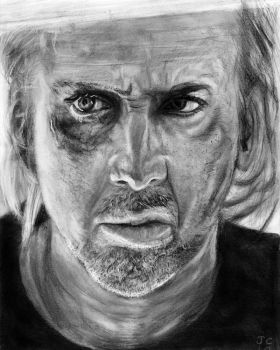Nicolas Cage - Drive Angry by The5thApe