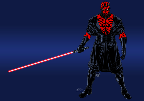 Darth Maul_Final by ariel025