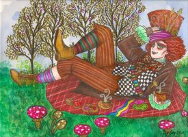 The Picnic Party_color by Lorelei2323