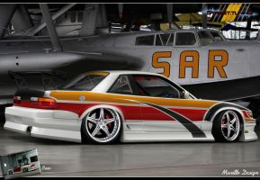 Nissan Silvia S13 Drift Style by MurilloDesign