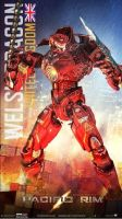 Pacific Rim - Jeager: Welsh Dragon by Lugnut1995