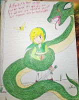 Link and the Basilisk by DreamPuppeteer