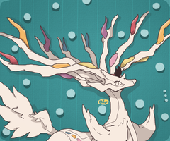 Xerneas by ExboTehQuilava