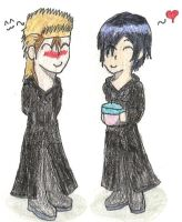 Chibi Demyx and Xion by Black-Angel-of-Mercy
