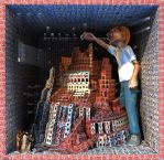Ecce Homo 100 'BABEL' by Polygonist