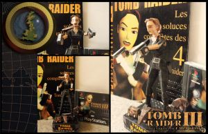 Tomb Raider - Thames Wharf  Papercraft by Noemie-in-Art