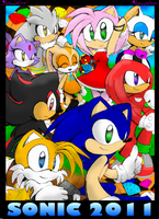 Sonic 2011 by Animegirl300