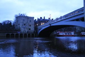 Lendal Tower and Bridge by CanisDiabolos