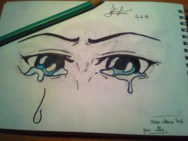 Eyes Crying by delPuertoSisters