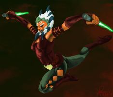 Ahsoka Tano FREEEEEEEEEEEEEEEE by i-am-mighty