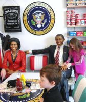 Breakfast with the Obamas by mikedaws