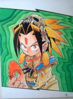 Yoh - Shaman King by Hanaki-sama