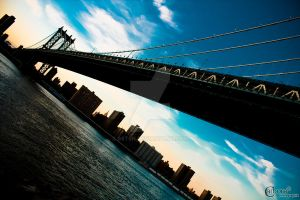 NYC - Manhattan Bridge by S6T9N