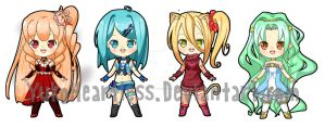 New Chibi Auction 01 - CLOSED by YuikoHeartless