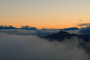 Over the clouds III by Simandi