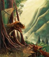 Draconic Rex by mnedel