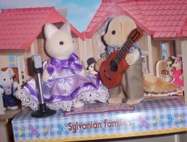 Sylvanian Families duet set by angelberries