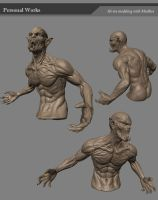mudbox character by derrickSong