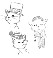 Cats In Hats by Alisha-town