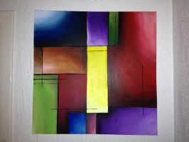 Abstract Cubism by Ryzouk