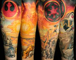 tatooine sunset by TimOrth