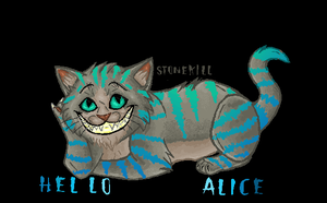 CHeShIRE CAt-mspaint by Stonekill