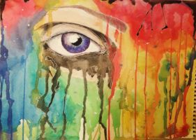 watercolor eye by dfarino