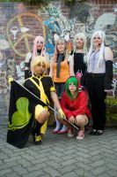 The Vocaloid Group Photoshoot by KowareYume