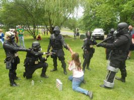 operation raccoon city animenext 2012 by demonart2