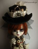 Clock hat by littlemissanthrope