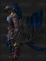 Raven Lord Warlords of Draenor Arakkoa mock-up. by Jurassic4LIFE