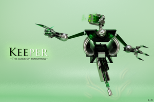 Keeper robot CGD project by oozy5000