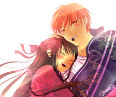 Fruits Basket - Valentine's day by Etrilya