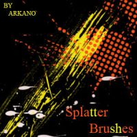 splatters brush pack by ARkanoID01