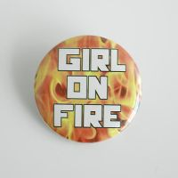 Girl on fire by MonstersPins