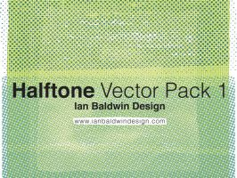 Halftone Vector Pack 1 by ibaldwindesign