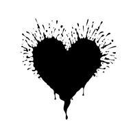 Splatter Heart by Umm-Tyler