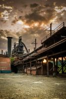 Sunset Factory by gsleh82