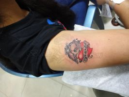 Heart Tattoo by blackpoisontattoos