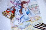Belle (Christmas time) WIP by Alena-Koshkar